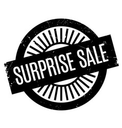 Surprise sale rubber stamp vector