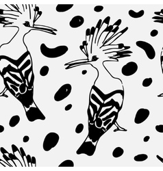 Birds pattern arts vector