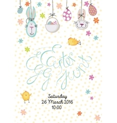 Easter egg hunt vector