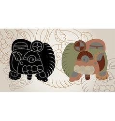 Maya sings vector
