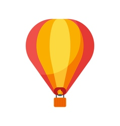 Flat style of balloon vector