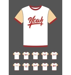 T-shirt design with the personal name noah vector