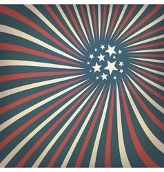 patriotic rays background vector image