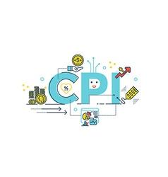 Cpi consumer price index word vector