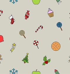 New years sweets icon vector
