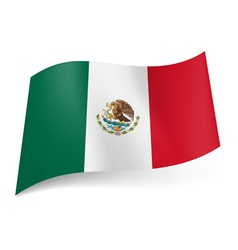 State flag of mexico vector