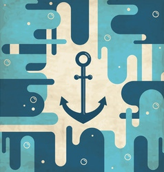 Abstract anchor background vector