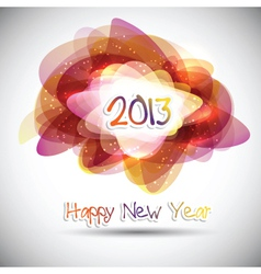 happy new year background 1810 vector image