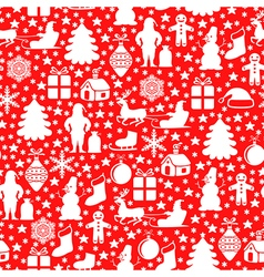 Red pattern red vector
