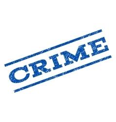 Crime watermark stamp vector