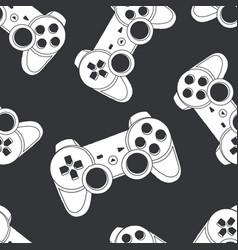 joystick seamless vector image