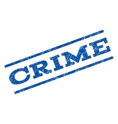 Crime watermark stamp vector