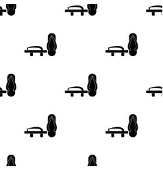 geta icon in black style isolated on white vector image