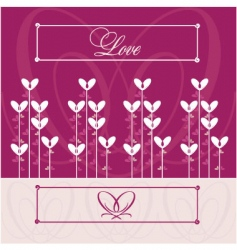 Love wedding vector