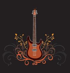 Vector guitar vector