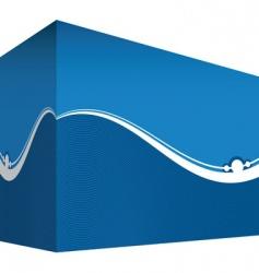 abstract box vector image vector image