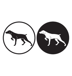 Hunting dog vector