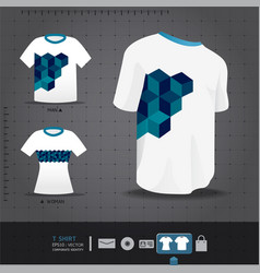 Abstract uniform t-shirt design vector