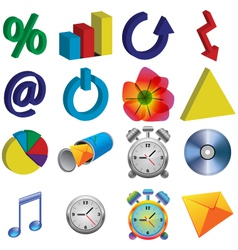 color icons vector image