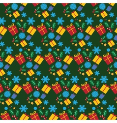 christmas background 1110 vector image