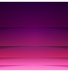 Abstract background with purple paper layers vector