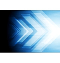 Abstract big arrow background vector