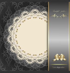 luxury design elements vector image