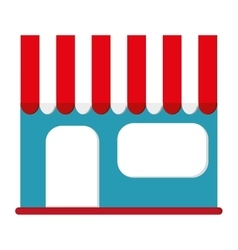 Shop shopping store flat icon vector