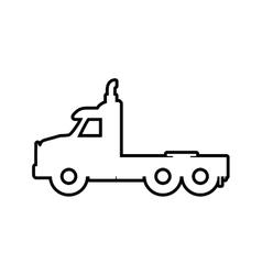 Truck icon transportation design graphic vector