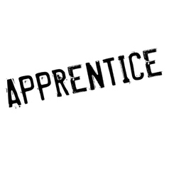 Apprentice rubber stamp vector