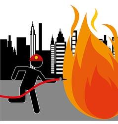 emergency concept design vector image