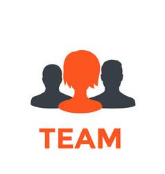 Team icon pictogram vector