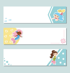 set of banners set of banners vector image