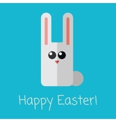 Vetor happy Easter card vector image vector image