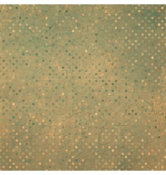 Vintage dots pattern vector