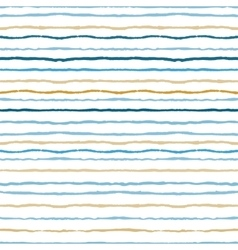 Watercolor stripes strokes seamless pattern vector image vector image