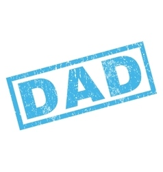 Dad rubber stamp vector