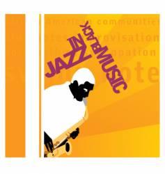 in jazz vector image