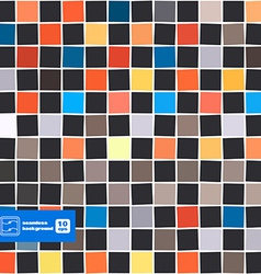 Abstract squares seamless background vector