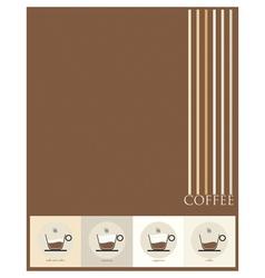 Paper coffee vector