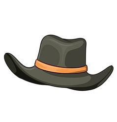 A grey hat vector