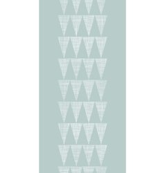Abstract silver gray fabric textured triangles vector