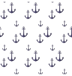 Pattern with anchors vector image