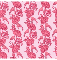 Pink flowers 3 380 vector