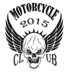 Set logos motorcycle labels badges and design vector image vector image