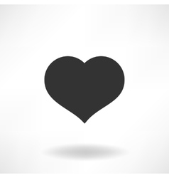Simply Heart Icon vector image vector image