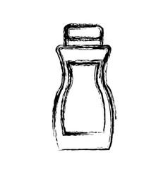 Sunblock bottle icon vector