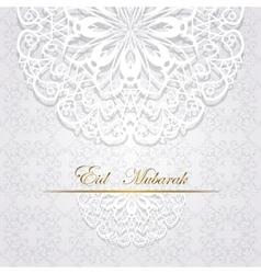 Eid mubarak celebration vector
