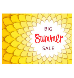 Summer sale template design vector