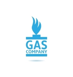 Gas company vector